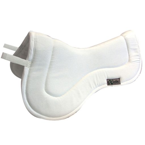 Exselle Twill Half Pad in white