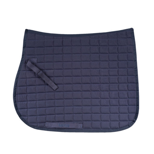 Horze Bristol AP saddle pad in peacock navy blue
