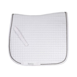 Horze Duchess dressage saddle pad in white