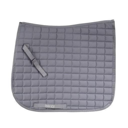 Horze Bristol VS dressage saddle pad in gray