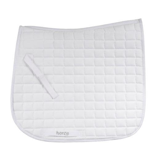 Horze Bristol VS dressage saddle pad in white