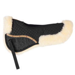 Horze Harleigh Sheepskin Riser pad with ventilation