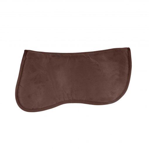 Horze Memory Foam microfiber contour pad in brown