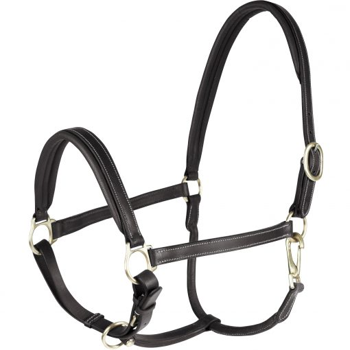 Horze Largo Leather halter black