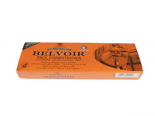 Carr & Day & Martin Belvoir tack conditioning glycerin soap with tray