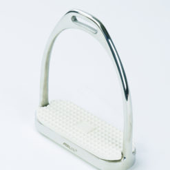 Centaur Fillis stirrup irons with white rubber footpad