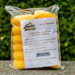 Pack of 12 small tack sponges