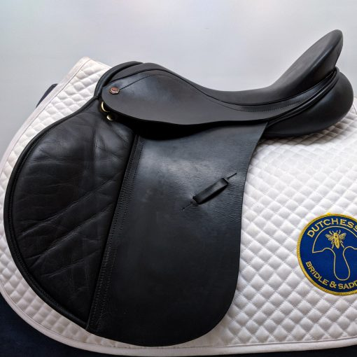 Albion K2 Jumping Saddle in black leather