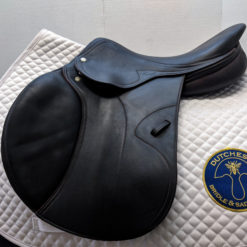 Amerigo Pinerolo calfskin jumping saddle