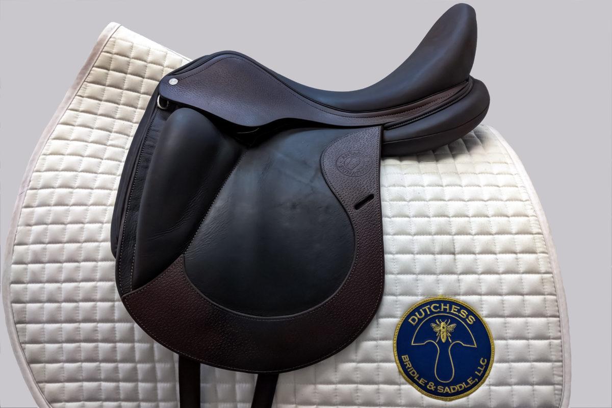 647162618af Antares dressage saddle with nubuck leather