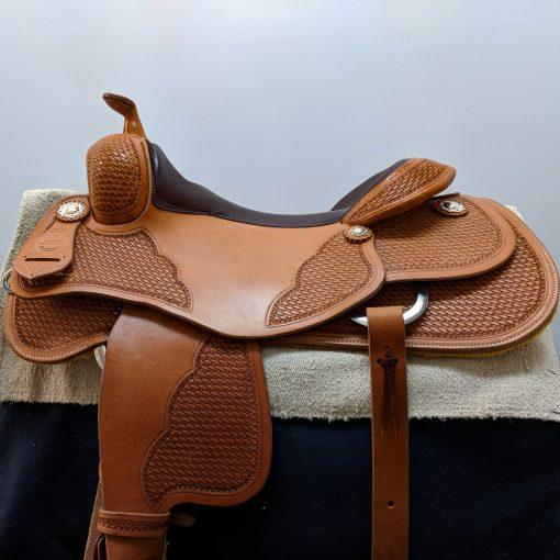 Colorado Saddlery Western Reining saddle