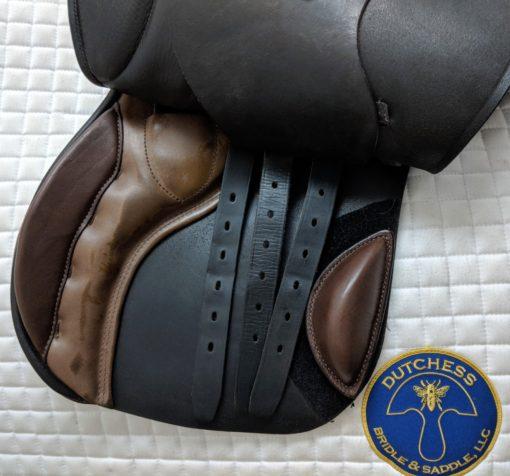 Courbette Aristokrat used jumping saddle billets
