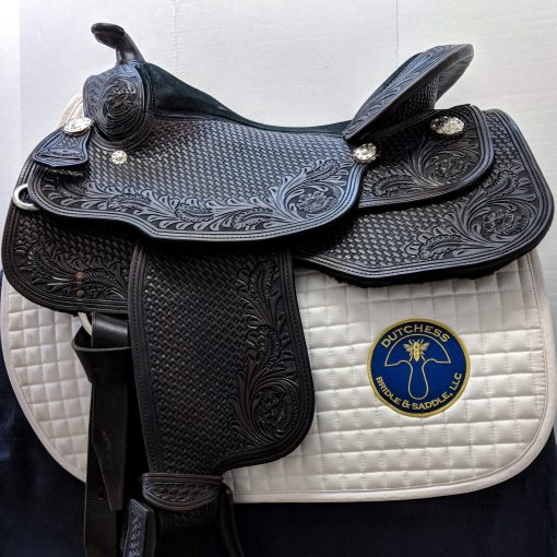 Dale Chavez Opportunity western pleasure show saddle in dark oil