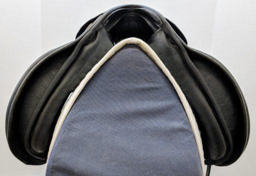 Hennig classic dressage saddle pommel