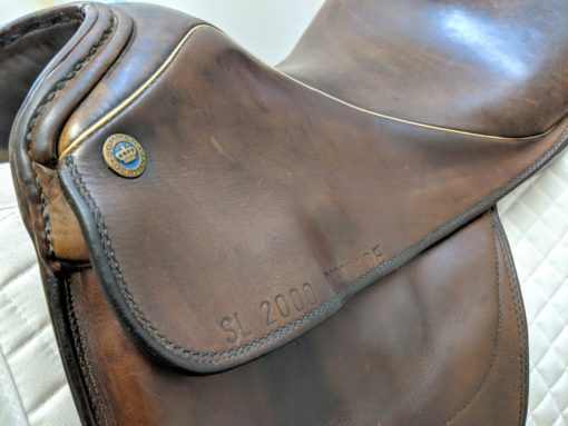 Sommer SL used dressage saddle in brown