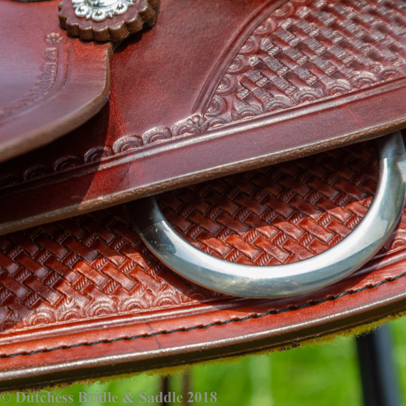 Crates Classic Trail Saddle basketweave