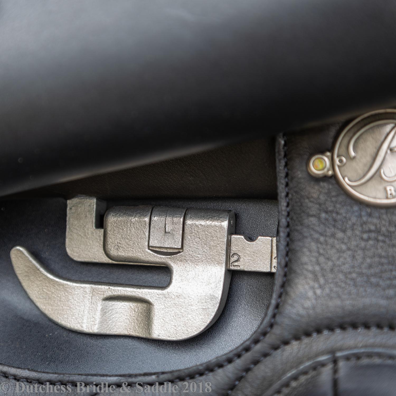 Bates Saddles Adjustable Ergonomic Stirrup Bar
