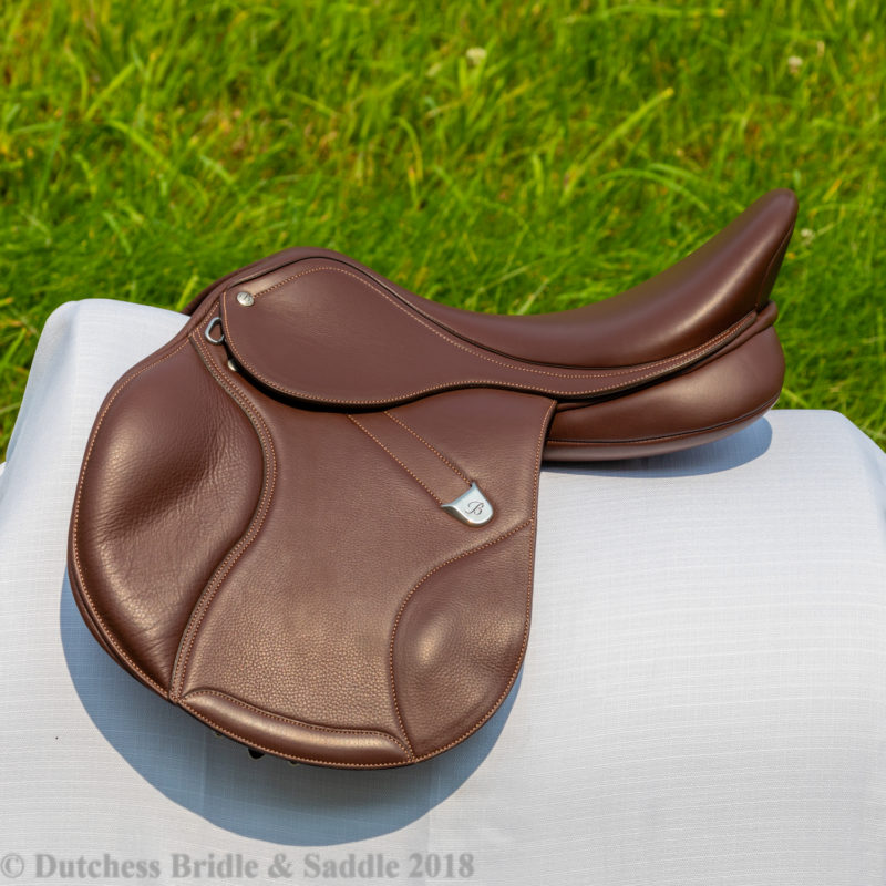 Bates Elevation DS+ profile in Havana Brown doubled leather