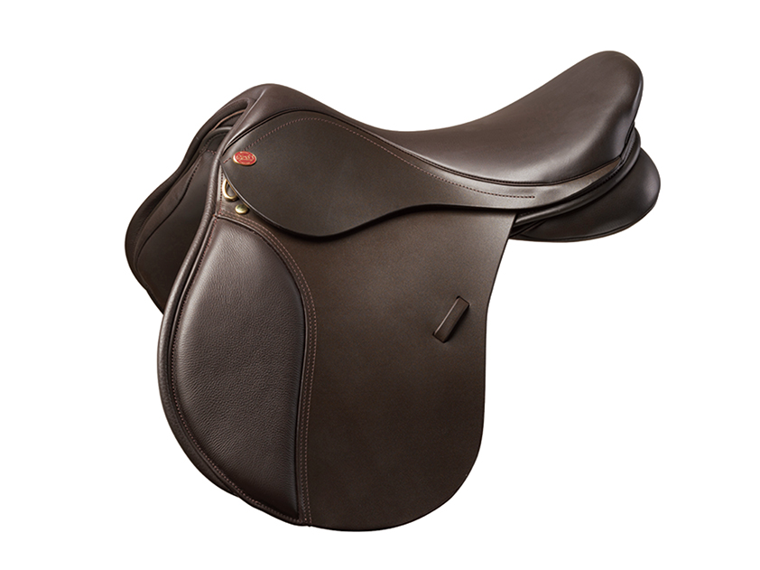Kent & Masters Pony Saddle in brown