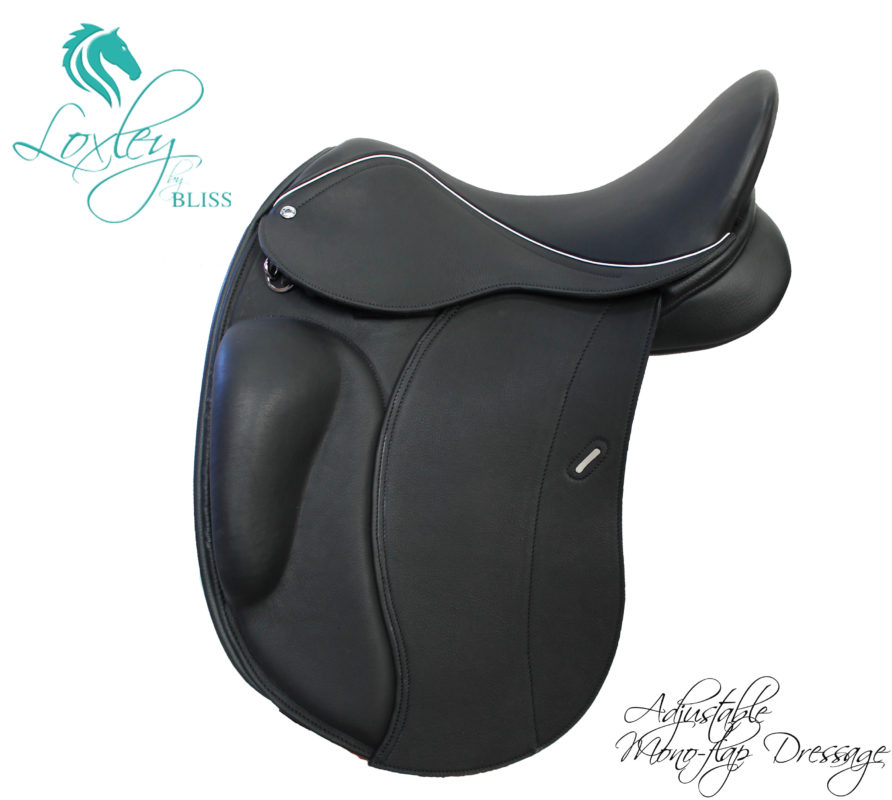 Loxley by Bliss Adjustable Mono Dressage Saddle