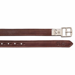 Bates Luxe Stirrup Leathers Brown