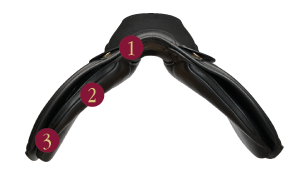 Kent & Masters Cob low wither profile saddle