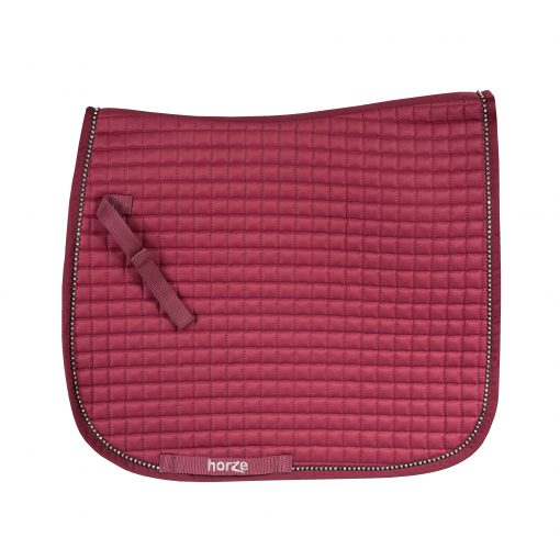 Horze Duchess Dressage pad red
