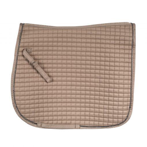 Horze Duchess dressage pad tan