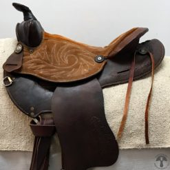 Western Saddle Profile