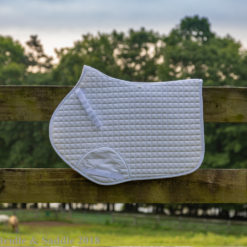 Weatherbeeta Prime Jump Saddle Pad in White