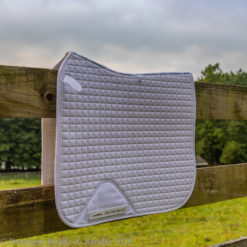 Weatherbeeta Prime dressage saddle pad in white