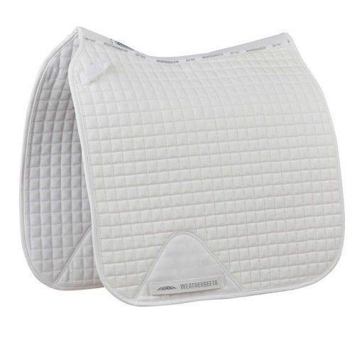 Weatherbeeta Prime Dressage pad in white