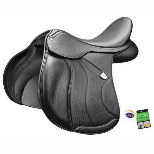 Bates All Purpose+ saddle black