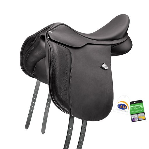 Bates WIDE All Purpose saddle with Heritage leather black