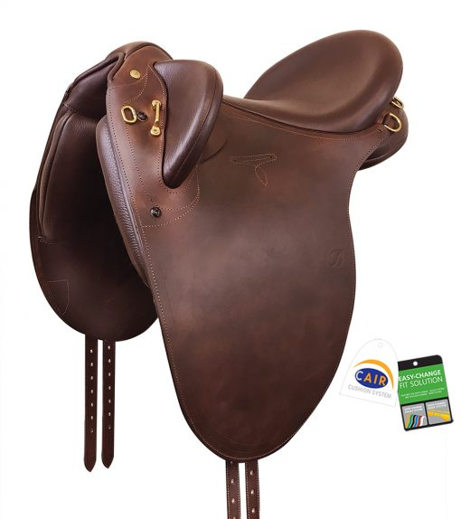Bates Outback Stock Saddle with Heritage leather