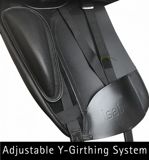 Bates Isabell+ dressage saddle with adjustable y-girthing system