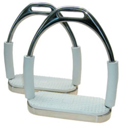 Coronet doubled jointed flex stirrup irons