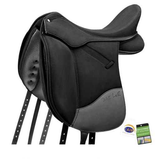 Wintec Isabell dressage saddle in black